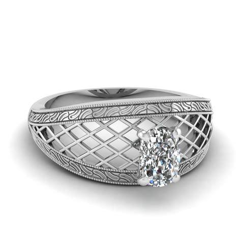 filigree engagement rings style at fascinating diamonds
