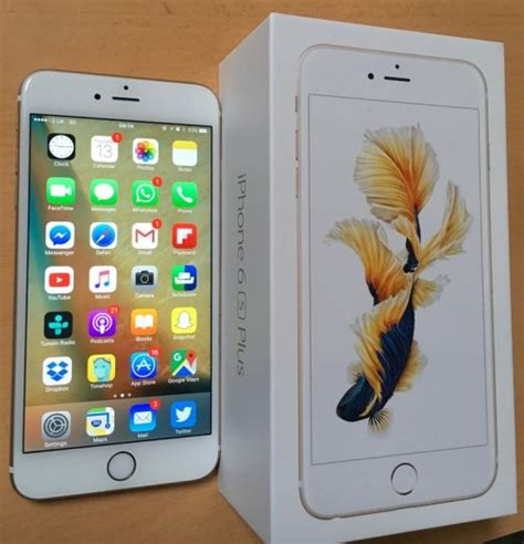 white iphone 6s plus 128gb unlocked for sale in dublin 8 dublin from ciaranwithfada