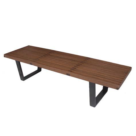 nelson bench diy nelson bench expandable danish midcentury modern slat