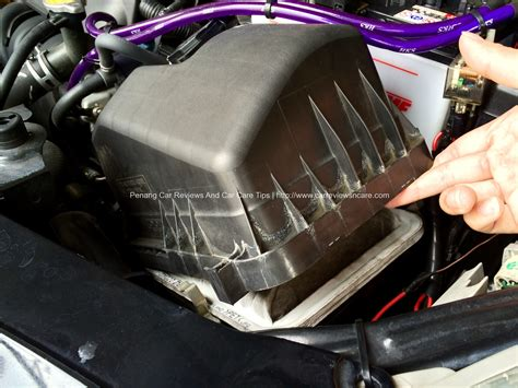 Air Filter Toyota Vios How To Do It Yourself Diy Replacing Your Car Engine Air Filter