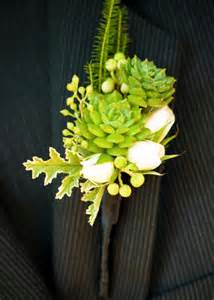 succulent boutonniere flower favies succulent boutonniere flourish wedding flowers floral design florist