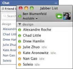 iphone xmpp chat tutorial le tchat de facebook est dor 233 navant accessible de partout