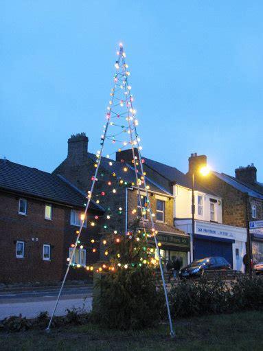 anorak britain s worst christmas tree country durham entry