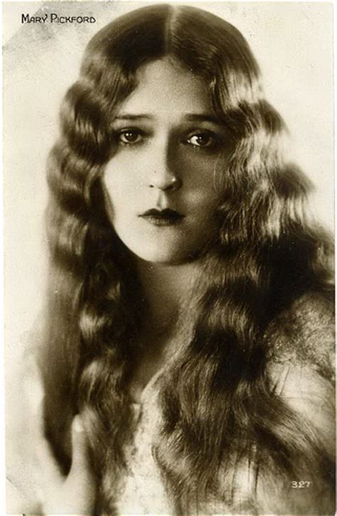 famous actor with long hair 1920 1000 images about actors mary pickford on pinterest