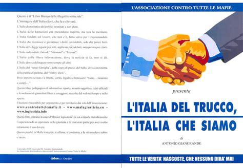 ministero dell interno sede legale associazione contro le mafie presenta libro l italia nel