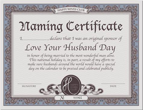 naming certificates free templates beautiful templates for gift certificates free pictures
