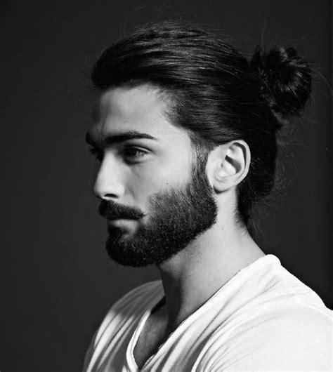 beard length hair length 50 hairstyles for men with beards masculine haircut ideas