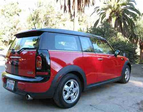 auto air conditioning service 2010 mini clubman navigation system find used chili red 2010 mini clubman in thousand oaks california united states for us 15 200 00