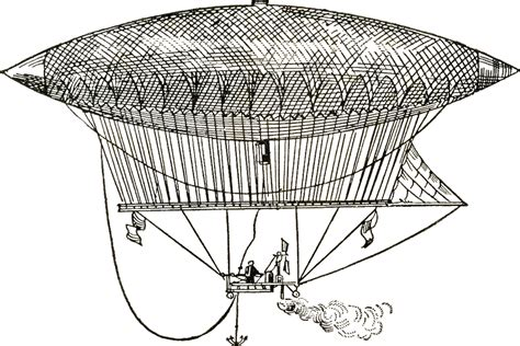 clipart graphics free vintage dirigible images steunk the graphics
