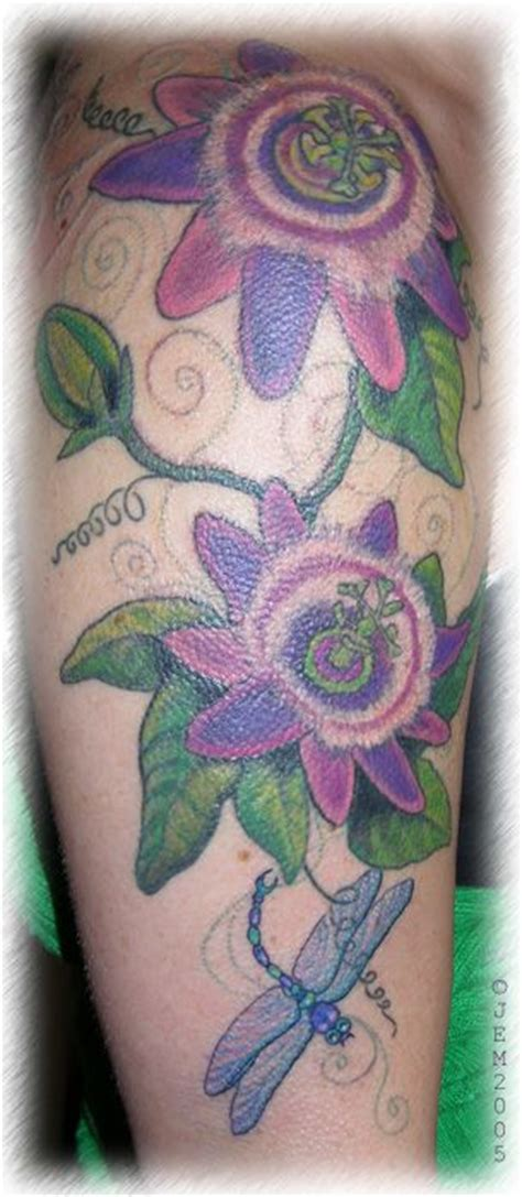passion flower tattoo designs 43 best flower images on