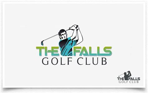 Origami Golf Club - logo design contests 187 the falls golf club logo design