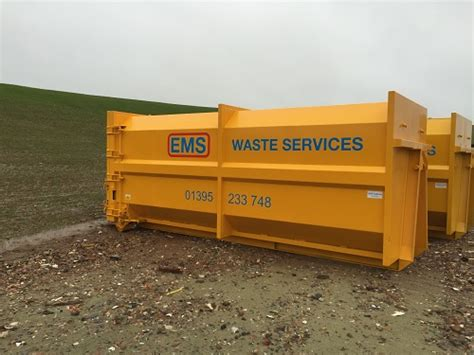 skip hire in plymouth skip hire exeter ems waste services ltd exeter based