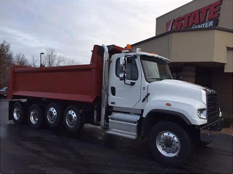 freightliner dump freightliner 114sd dump trucks for sale used trucks on
