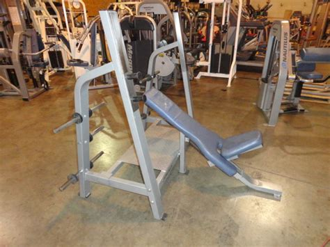 nautilus workout bench midwest used fitness equipment nautilus nitro olympic bench press