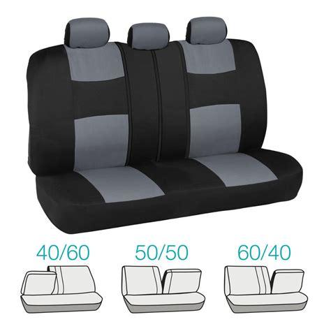 Honda Civic Seat Covers by Car Seat Covers For Honda Civic Sedan Coupe Grey Black