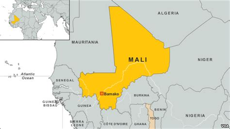 map of mali west leaders to meet to discuss mali crisis