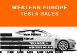 Tesla Sales Europe Aid Limited Automotive Industry Data Electric Car
