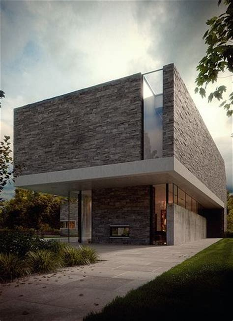 3d house and plan rendering max richter house m 3ds max and vray arc cgi pinterest