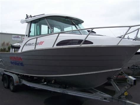 pursuit boats unsinkable fyran 760 pursuit ght wheelhouse f760wh boats for sale nz
