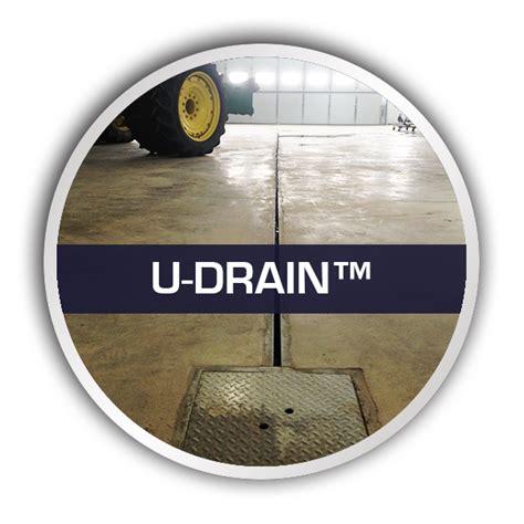 Simple Floor U Drain Simple And Cost Effective Floor Drainage