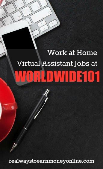 Online Virtual Work From Home - work from home as a virtual assistant for worldwide101