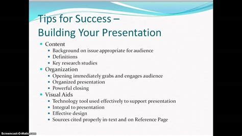 research paper presentation format research paper presentation options