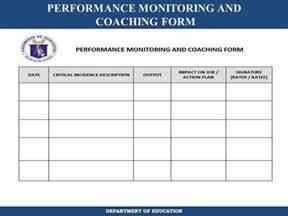 Coaching Review Template by Coaching Plan Template Emergency Plan