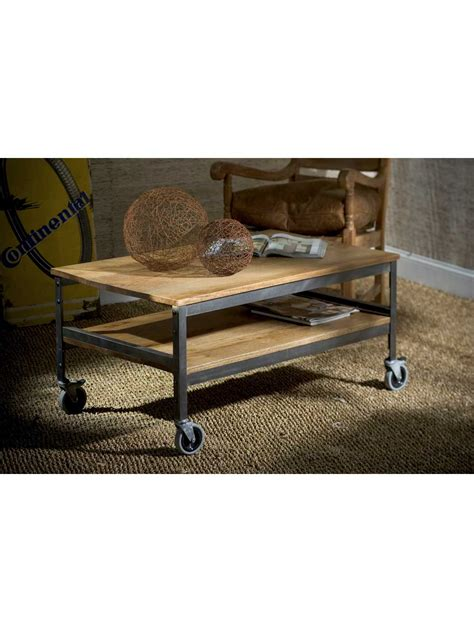 wood top coffee table studio wood top metal coffee table cottage home 174