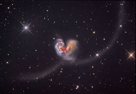 galaxies  collision  spoke jon
