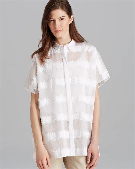 salma blouse lafayette 148 new york salma blouse bloomingdale s