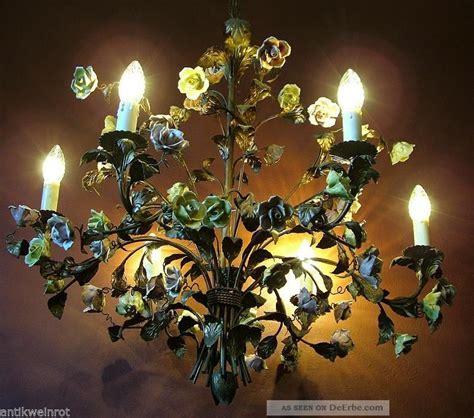 kronleuchter jugendstil kronleuchter l 220 ster 50 alt shabby chandelier