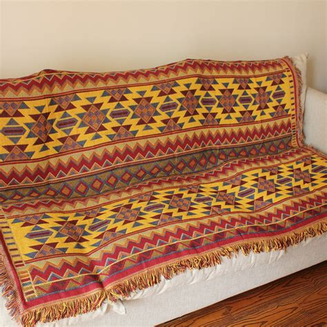 tapestry throws couch bohemia blanket throw fringed tapestry sofa bed cover