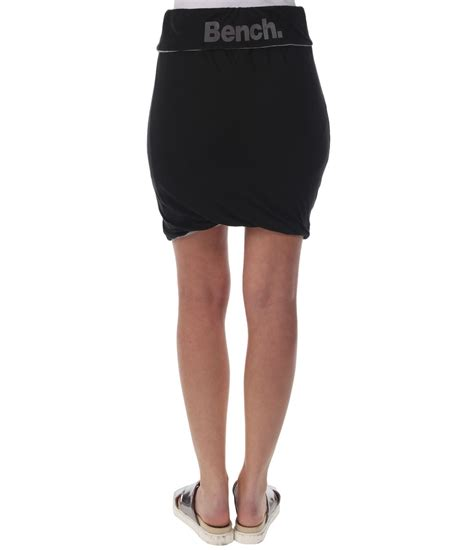 bench skirt bench hank ii double layered skirt in black lyst
