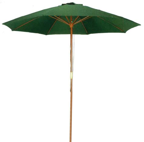 Patio Umbrella Green 9 Green Patio Umbrella Outdoor Wood Market Umbrella Ub50021 Traditional Outdoor