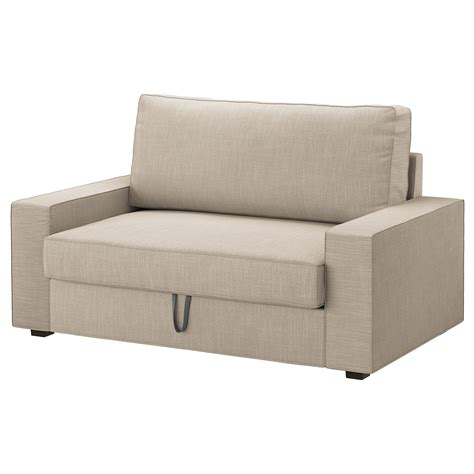 Ikea Two Seater Sofa Bed Vilasund Two Seat Sofa Bed Hillared Beige Ikea