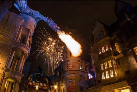universal studio open on new year diagon alley opening tourist meets traveler