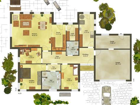 Haus Mit Integrierter Garage Grundriss by Grundriss Bungalow Mit Integrierter Garage Emphit