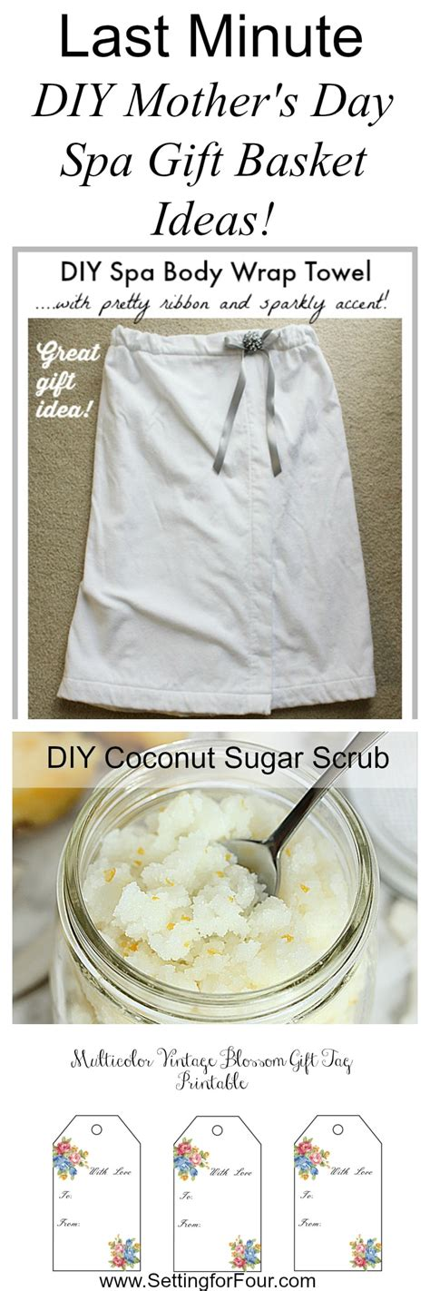 Last Minute Diy S Day Gifts Last Minute Diy S Day Gift Basket Ideas Setting