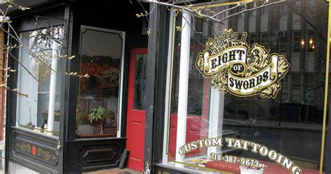 tattoo shops nyc open late eight of swords tattoo parlour retail boutique and art