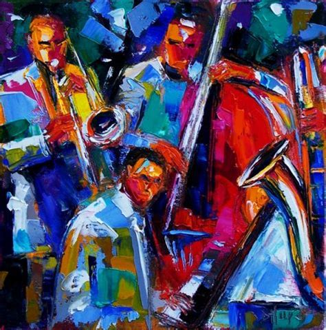 jazz artists biography abstract jazz art painting music paintings by debra hurd
