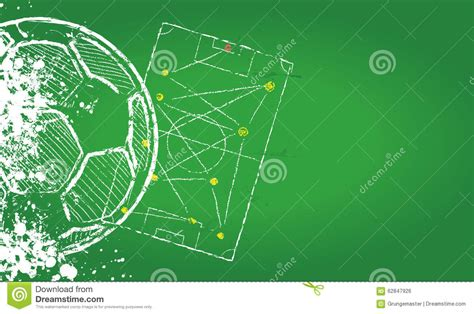 football design template soccer o football design template stock vector image