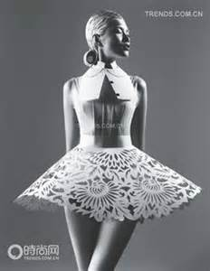 Essay Like A Skirt by Paper Fashion On Paper Dresses Hussein Chalayan And Paper