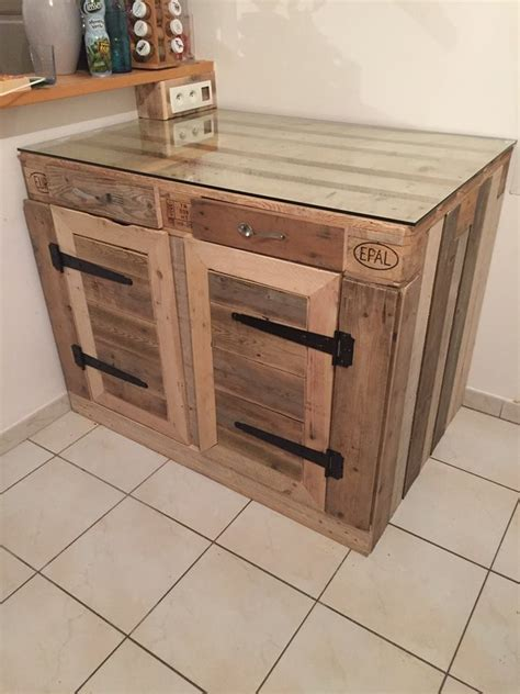 pallet kitchen cabinet 1001 pallet ideas