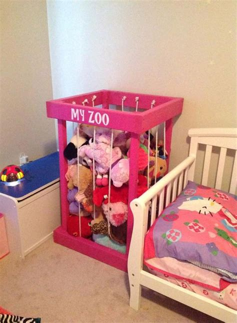 comfy stuffed toys storage ideas shelterness
