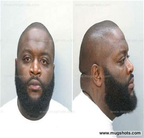 Rick Ross Criminal Record Rick Ross Mugshot Rick Ross Arrest