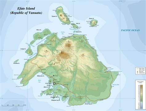 island map efate
