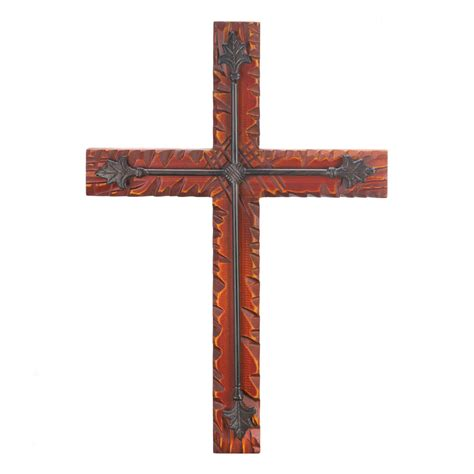home decor crosses wood iron wall cross wholesale at koehler home decor