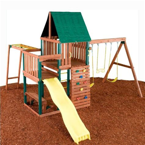 chesapeake swing set discount deals swing n slide chesapeake wood complete