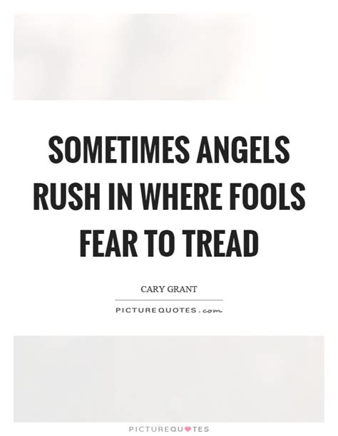 Fools In Where Fear To Tread Essay by Sometimes In Where Fools Fear To Tread Picture Quotes
