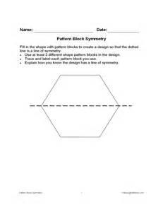 Pattern Blocks Template by Pattern Block Symmetry Template Free